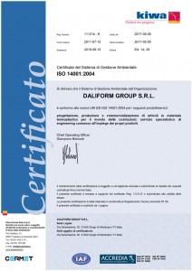 DaliformGroup - ISO14001