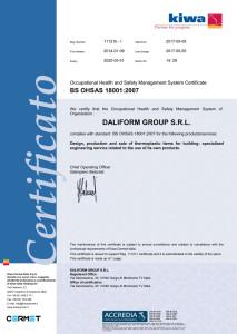 DG - Certificato18001-Inglese-AllegatoB