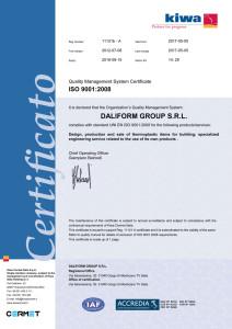 DG - Certificato9001-Inglese - AllegatoB